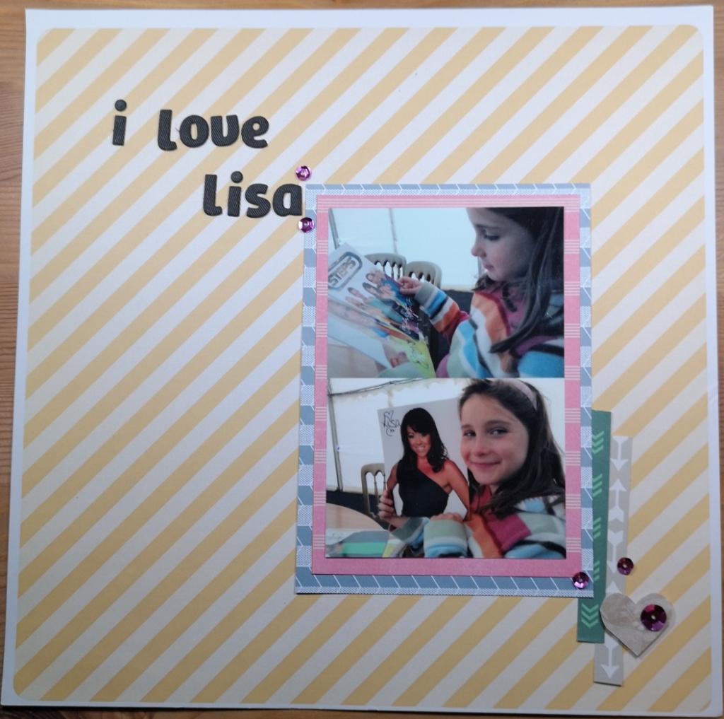 Rachel Howells purplecftr Scrapbook layout page of Steps in Singletone Park Swansea with Lisa Scott Lee and using Amy Tangerine Cut and Paste