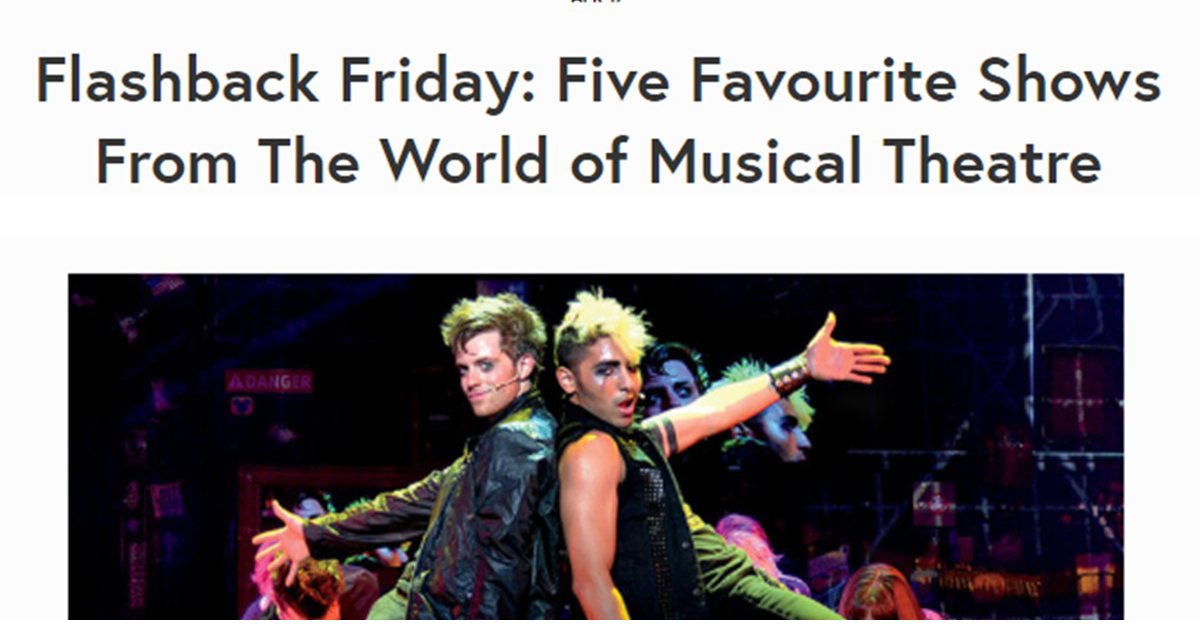 5 fav musicals entertainment south wales